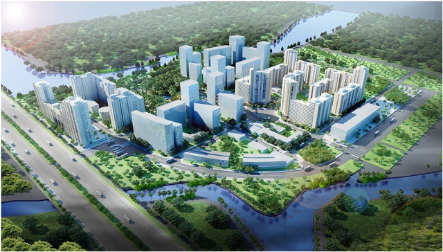 38.4HA INFRASTRUCTURE – THU THIEM NEW URBAN...